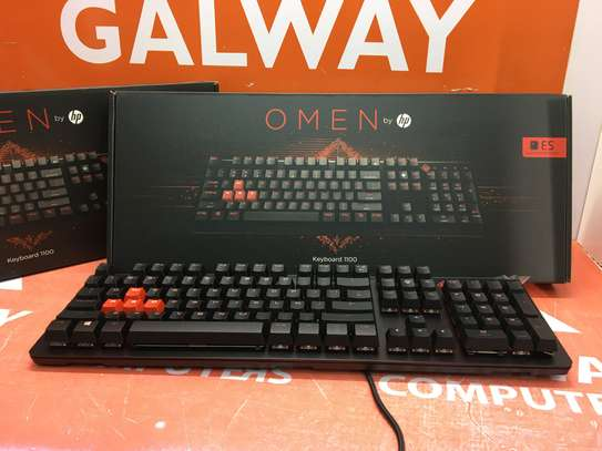 Hp Omen Gaming Keyboard LED Backlight (Model 1100) image 2