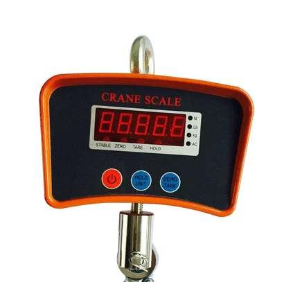 Heavy Duty 500kg 0.5 Ton Industrial LCD Digital Hanging Crane Scale image 1