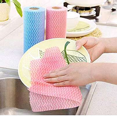 Re~usable paper towel roll mat image 7