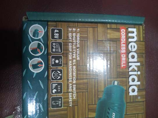 Meakida Cordless Drill 4.8V image 2