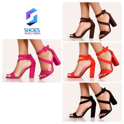 Classy chunky heels image 2