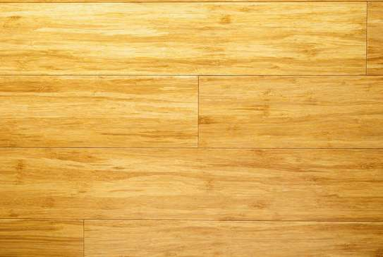 Commercial bamboo floors