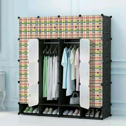 Executive Portable 3 Column High Density Plastic Wardrobes image 4