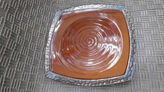 6pc ceramic dinner set/6pc ceramic bowls/ dinner plates image 8