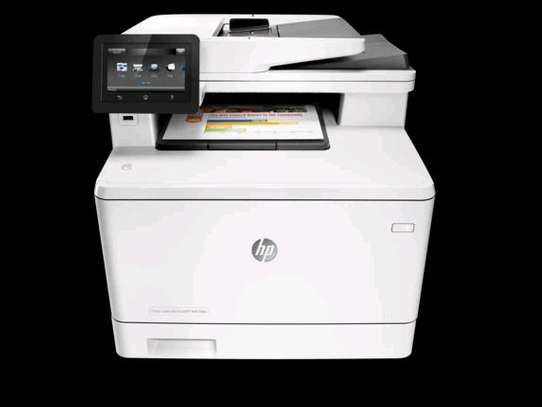 HP Color LaserJet Pro MFP M477fnw Print Copy Scan Fax Email Wireless Printer image 2