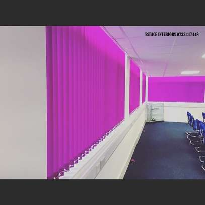 Colourful office blinds image 1