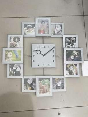 Photo frame clock image 1