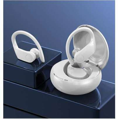 A15 twin Bluetooth earphones with charging box image 1