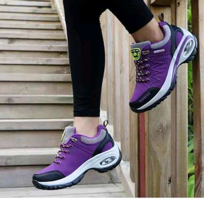 Flyknit fashion ladies sneakers image 1