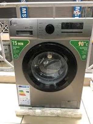 Synix 6kg front Load full Automatic washing machine image 1