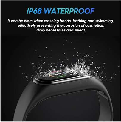 Smart Fitness Watch Bracelet M4 Tracker Band Activity Heart Rate Monitor image 10
