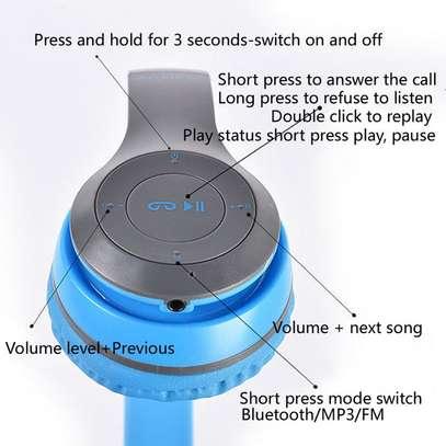 P47 Wireless Headphones Bluetooth Headset image 3