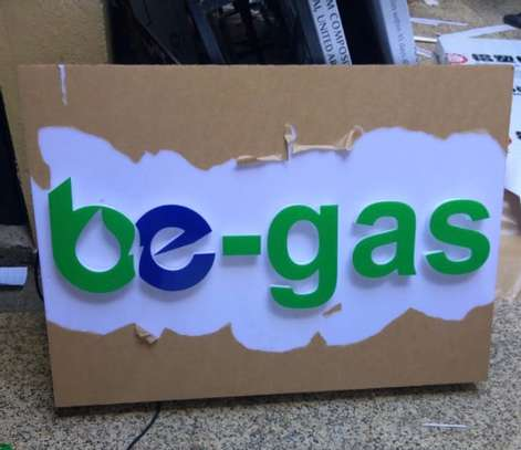We do quality 3D signage, Light box signage, corporate logos.. contact us for pricing image 5