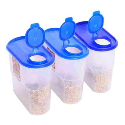 Cereal jar container image 1