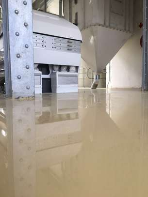 Fossilcote Floor installation for Ajabu Flour Mill Co. image 1