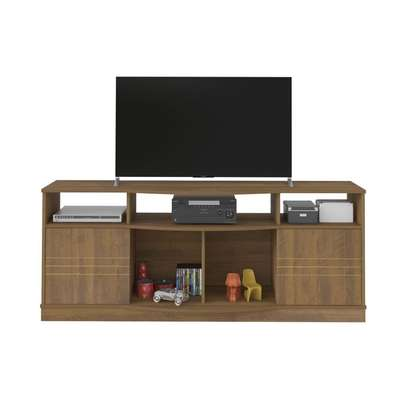TV Stand Rack ( Pine Green ) - 65 Inch TV Space