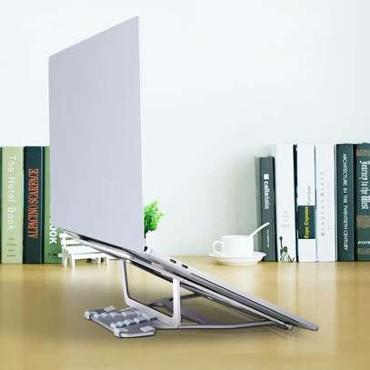 """Aluminum Lapdesks for MacBook Air Pro 11-15 Inch Adjustable Cooling Support Notebook PC Tablet Stand """" image 3"""