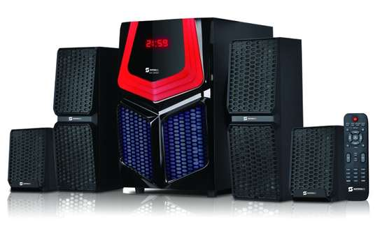 Sayona subwoofer SHT-1205 BT - 4.1 Channel - 16500Watts PMPO image 1