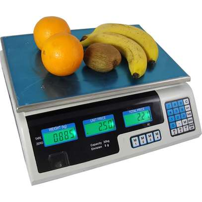 30kg acs series price computing scale weighing scale weighing machine image 1