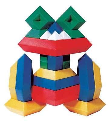 Kids/Children Deluxe Set 30 Pc Building Block Set Educational Toy image 1