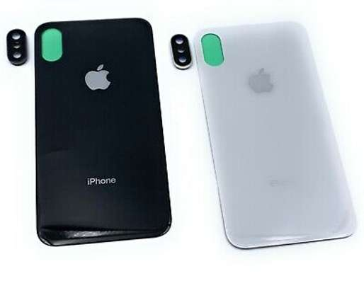 Battery Cover Replacement Back Door Housing Case For iPhone X/Xs image 6