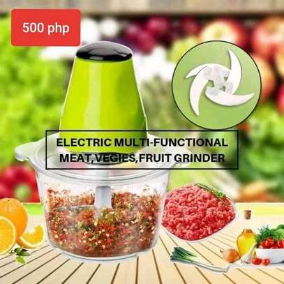 *Multi~fuctional electric  vegetable chopper &meat mincer image 1