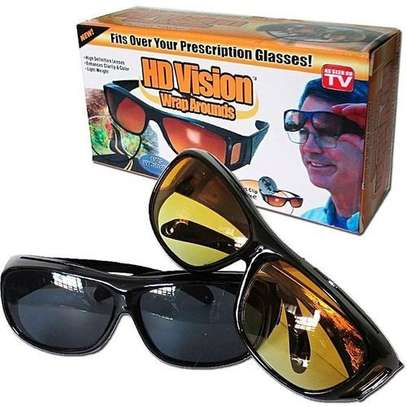 HD Vision Day and Night Vision Glasses