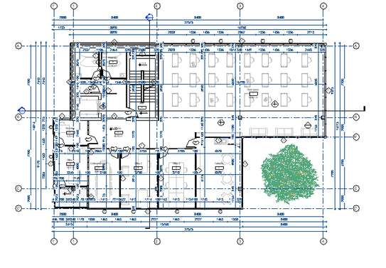 Office building plan image 6