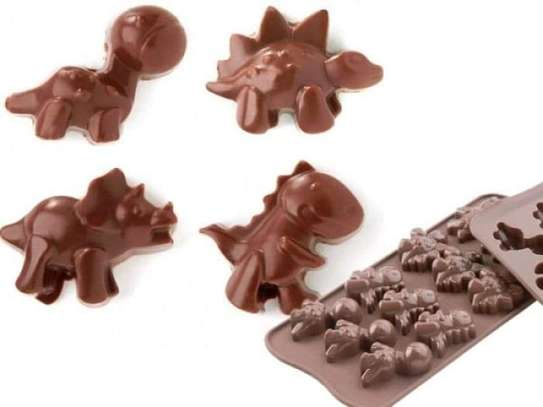 Dinosaur Silicone Chocolate Mould image 1