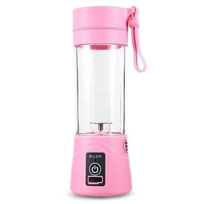 Portable USB Rechargeable Juicer Cup Fruit juicer - Pink
