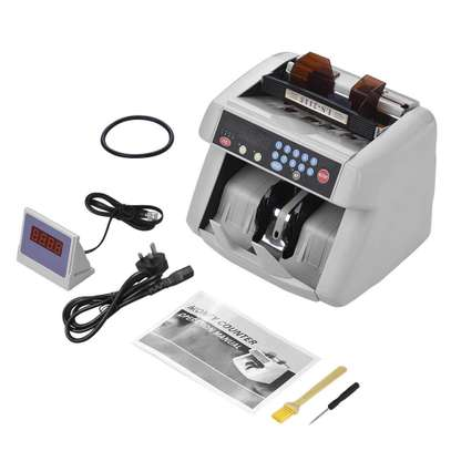 Professional multi-currency  banknote detector fast counting. image 1