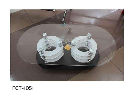 Glass-top Coffee Table image 6