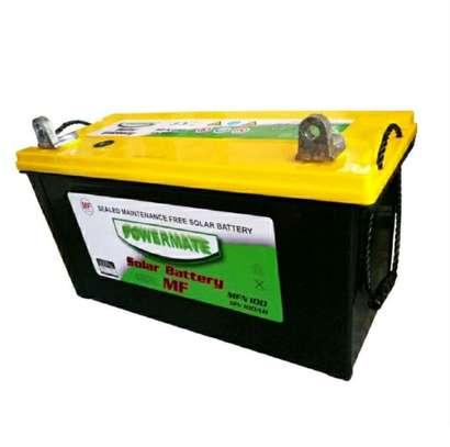 Powermate 12V 100ah MF Solar Battery image 1