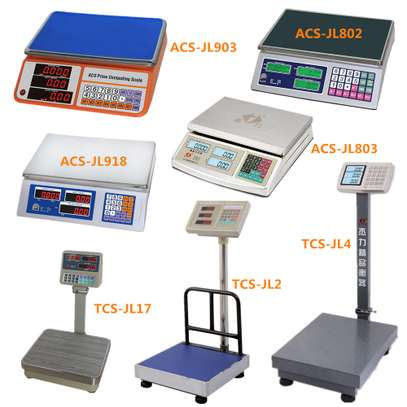 30kg to 300kg wide range digital weighing  scales. image 1