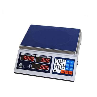 Price Computing Scale ACS 30 Digital Fruit Vegetables Meat Weighing Scale image 1