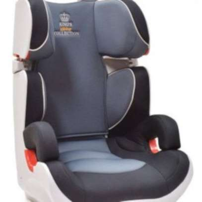 Infant Baby Car Seat- ( 0- 7 years) Grey and Black image 1