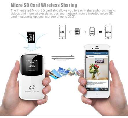 4G LTE MIFI/PORTABLE ROUTER image 2