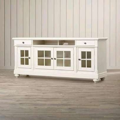 White tv cabinet/tv cabinets for sale in Nairobi Kenya/tv stands designs for sale in Nairobi Kenya/Console tables image 1