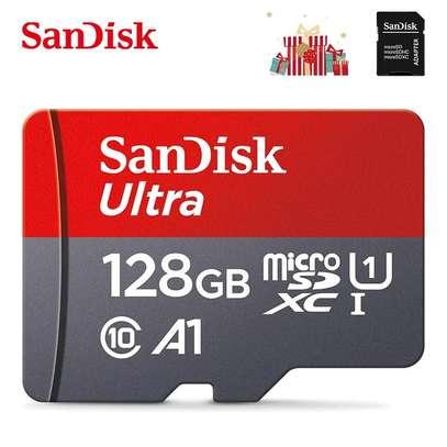 Sandisk 128GB MicroSDXC A1 100Mbs SDSQUAR/GN6MA image 6