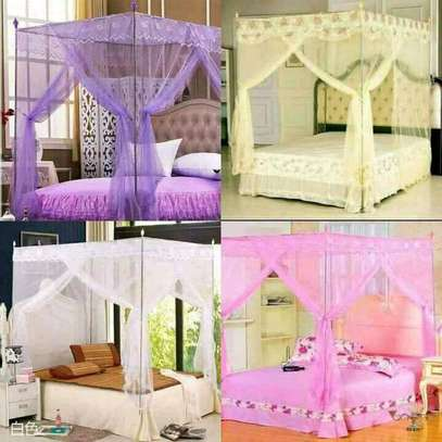 Mosquito nets with metallic stands on e image 1