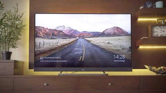 TCL 65 INCH 4K QUHD SMART ANDROID TV 65C8 -2019 MODEL image 1