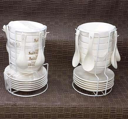 Soup set/ceramic soup set image 1
