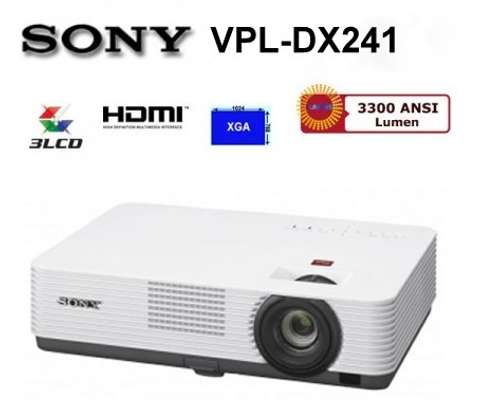 Sony projector VPL  DX 241 image 1