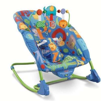 Deluxe Infant-to-Toddler Rocker/bouncer -Multicolor image 1