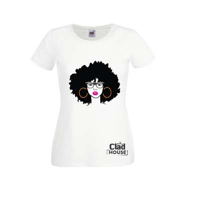 African Diva Afro Tshirt