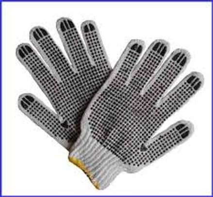 Cotton Dotted Gloves image 2