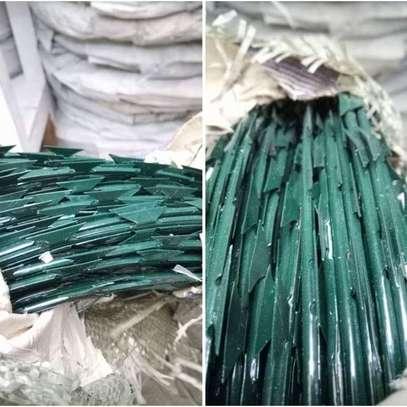 Green Razor wire image 1