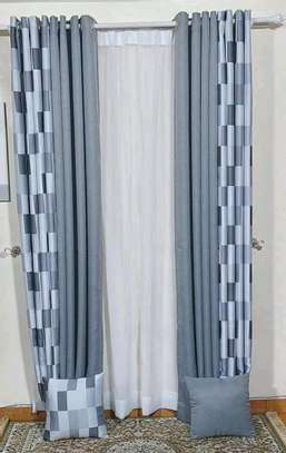 embroidered cheap curtain window curtains and sheers image 5