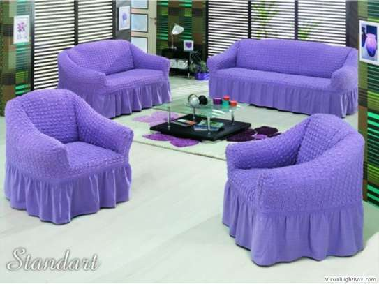 Ready Made Loose Covers 5 seater 11500/= image 8