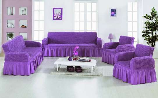Elastic sofa cover image 7